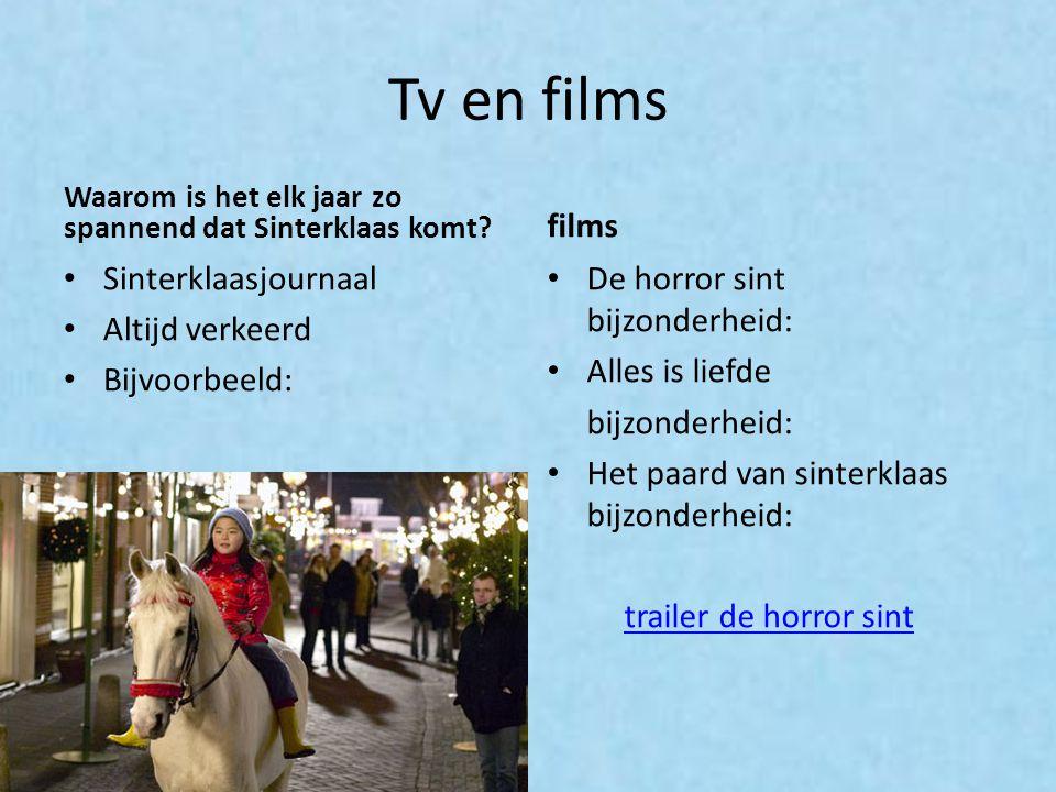Tv en films films Sinterklaasjournaal Altijd verkeerd Bijvoorbeeld: