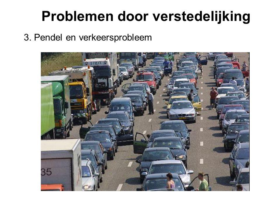 Problemen door verstedelijking
