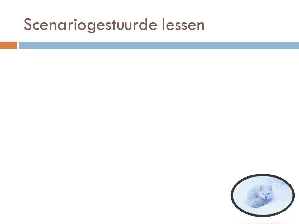 Scenariogestuurde lessen