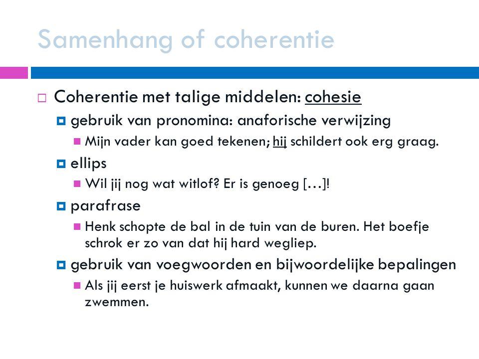 Samenhang of coherentie