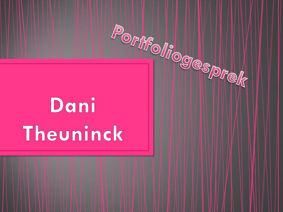Portfoliogesprek Dani Theuninck