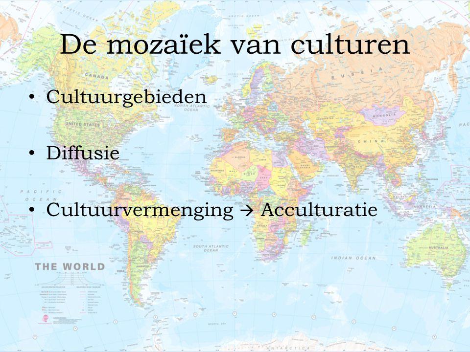 De mozaïek van culturen