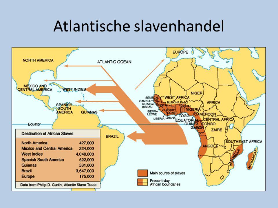 Atlantische slavenhandel
