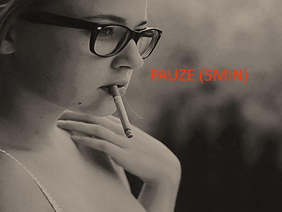 PAUZE (5MIN) 5 MINUTEN PAUZE