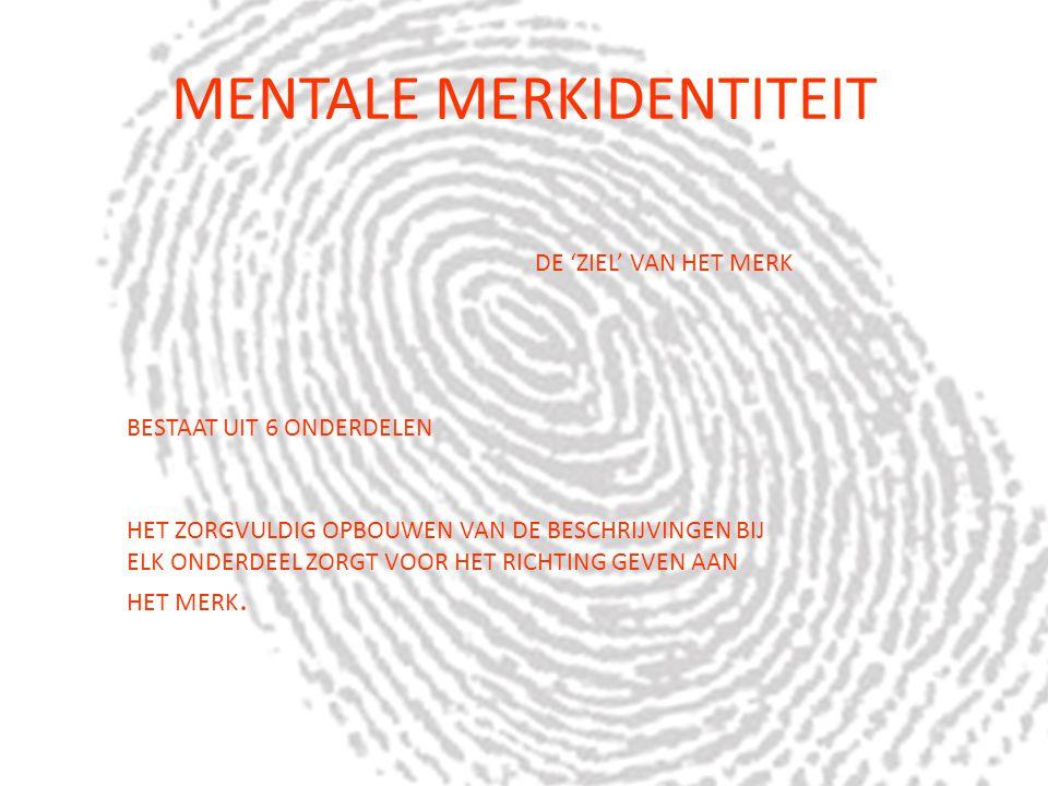 MENTALE MERKIDENTITEIT