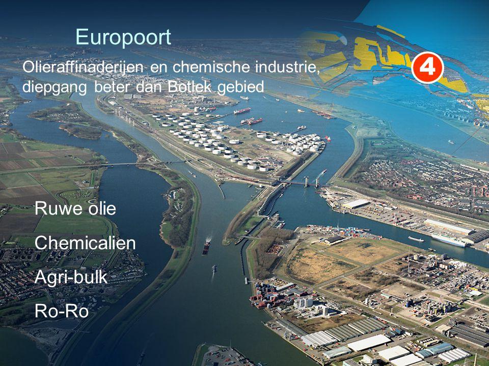 4 Europoort Ruwe olie Chemicalien Agri-bulk Ro-Ro