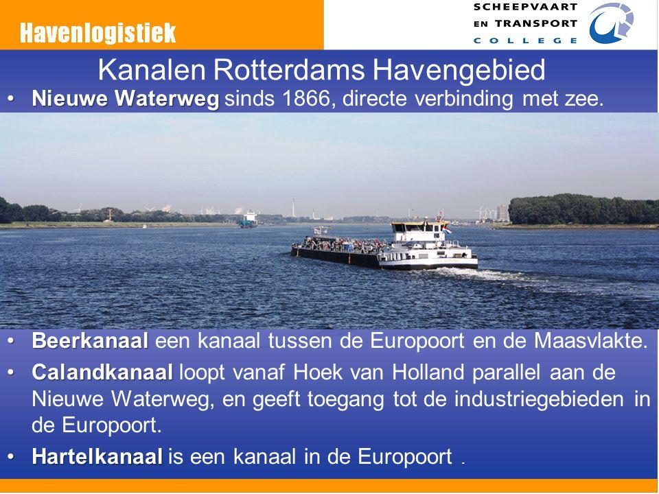 Kanalen Rotterdams Havengebied
