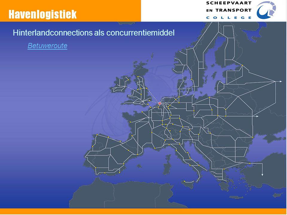 Hinterlandconnections als concurrentiemiddel