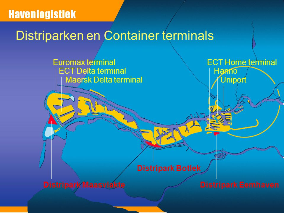 Distriparken en Container terminals