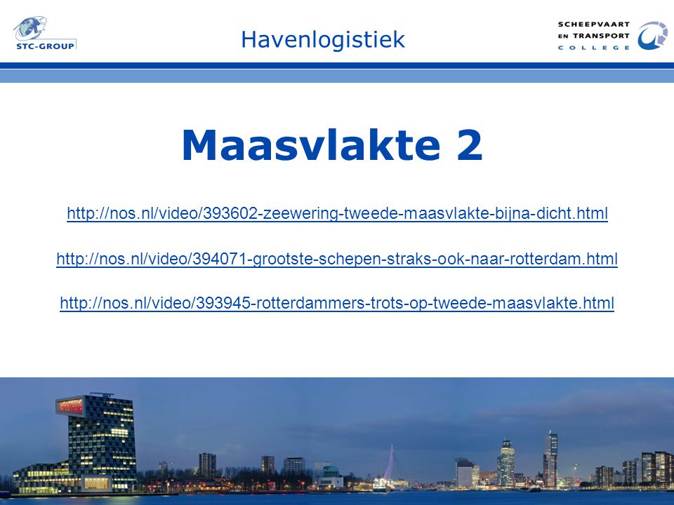 Maasvlakte 2 Havenlogistiek