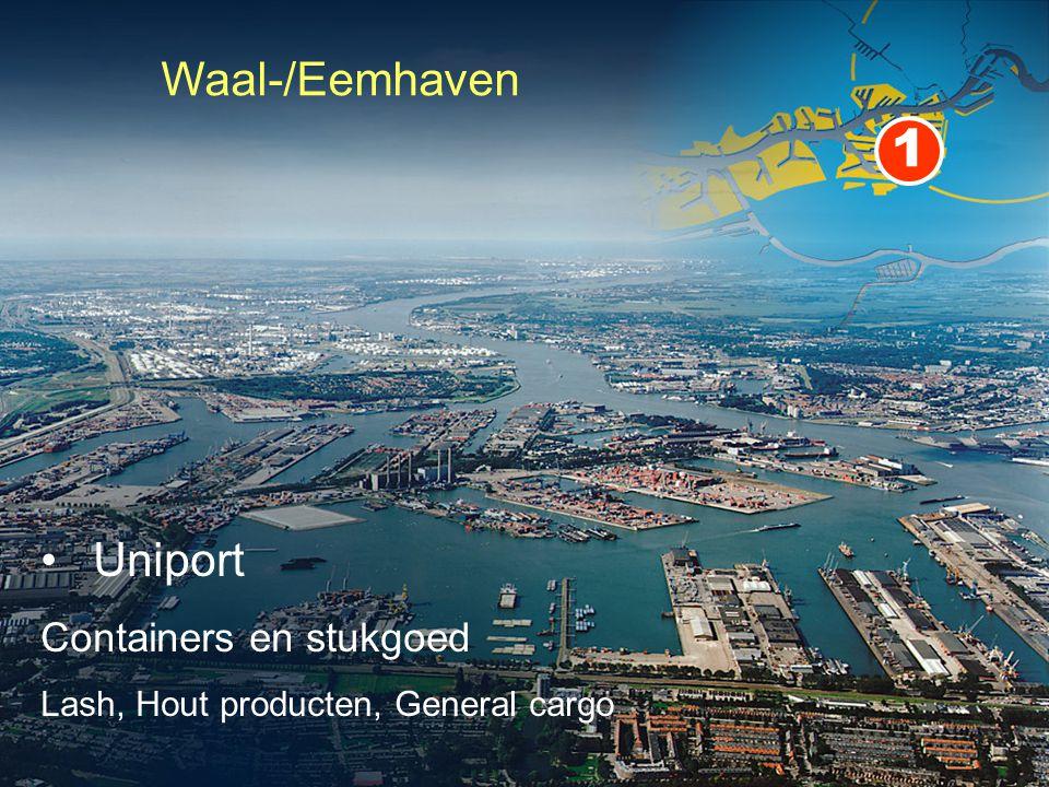 1 Waal-/Eemhaven Uniport Containers en stukgoed