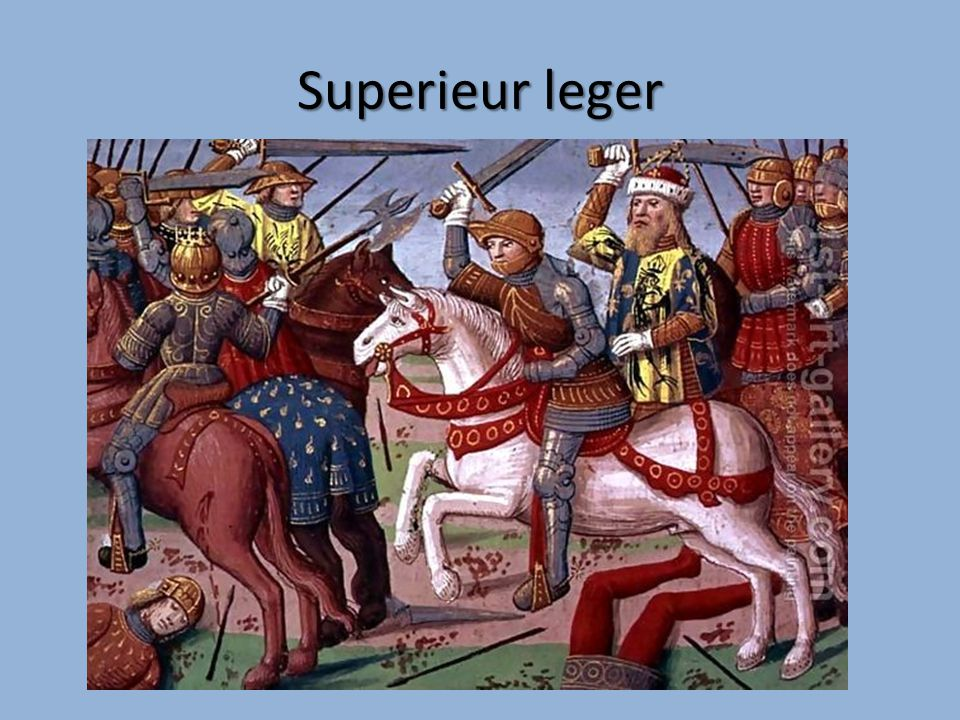 Superieur leger