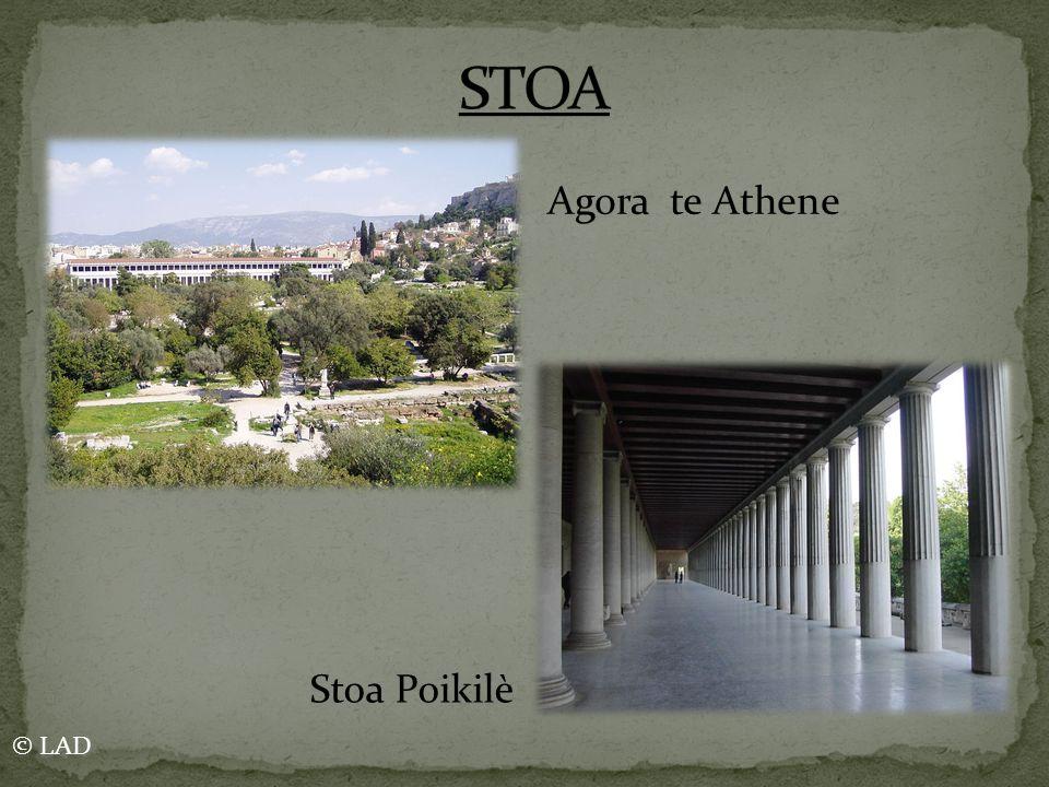 STOA Agora te Athene Stoa Poikilè © LAD