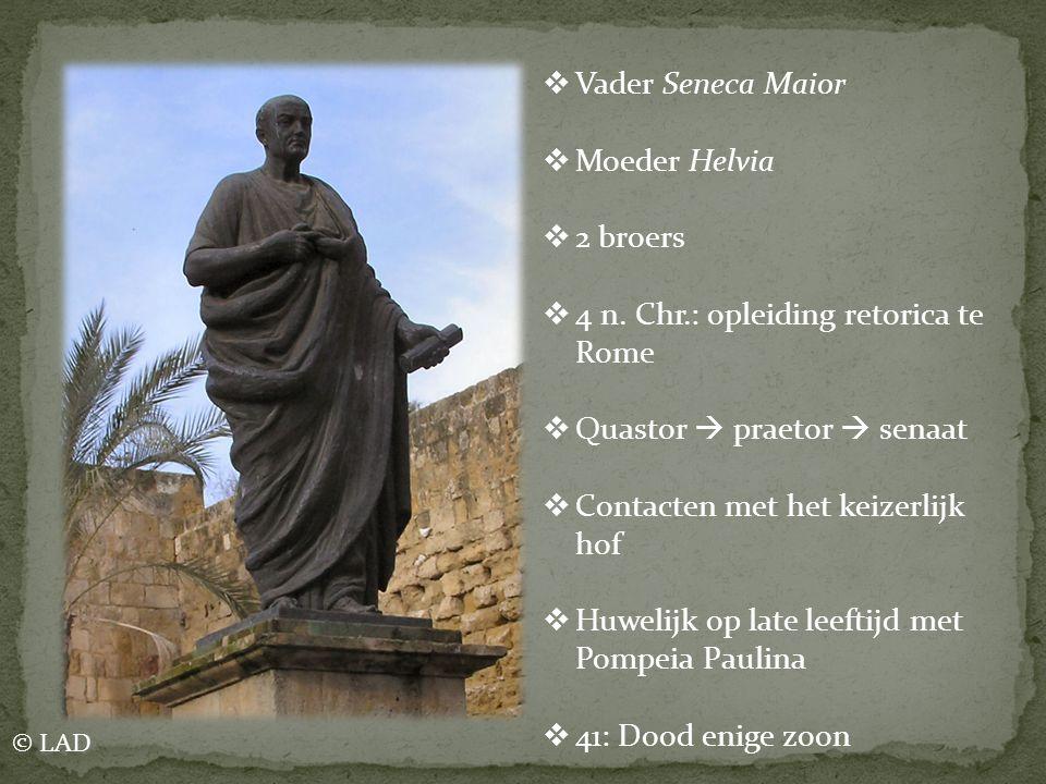4 n. Chr.: opleiding retorica te Rome