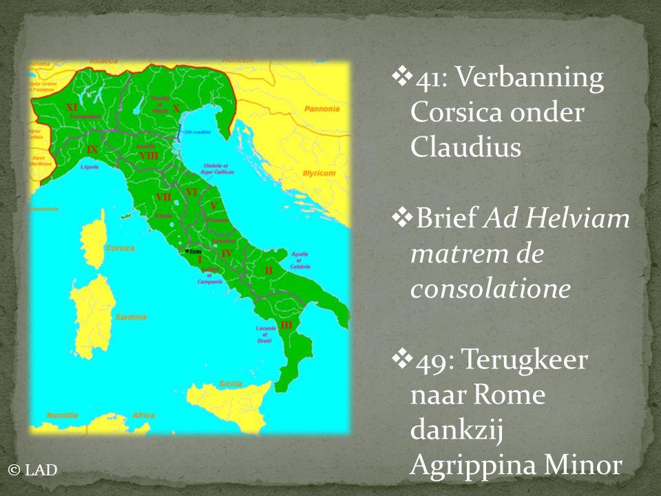 41: Verbanning Corsica onder Claudius
