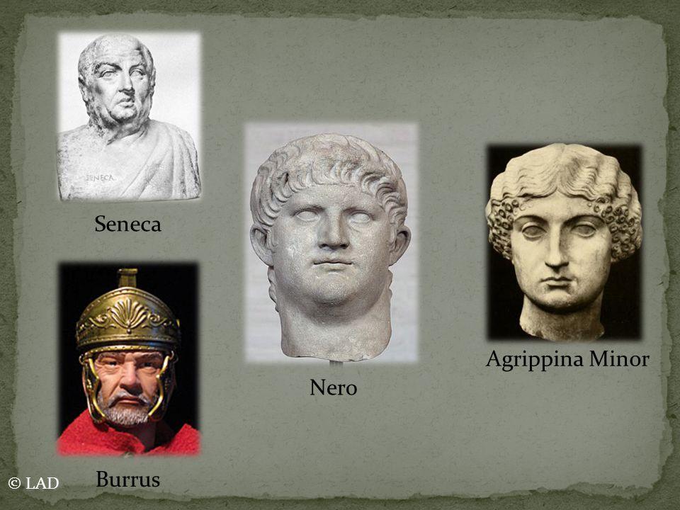 Seneca Agrippina Minor Nero Burrus © LAD