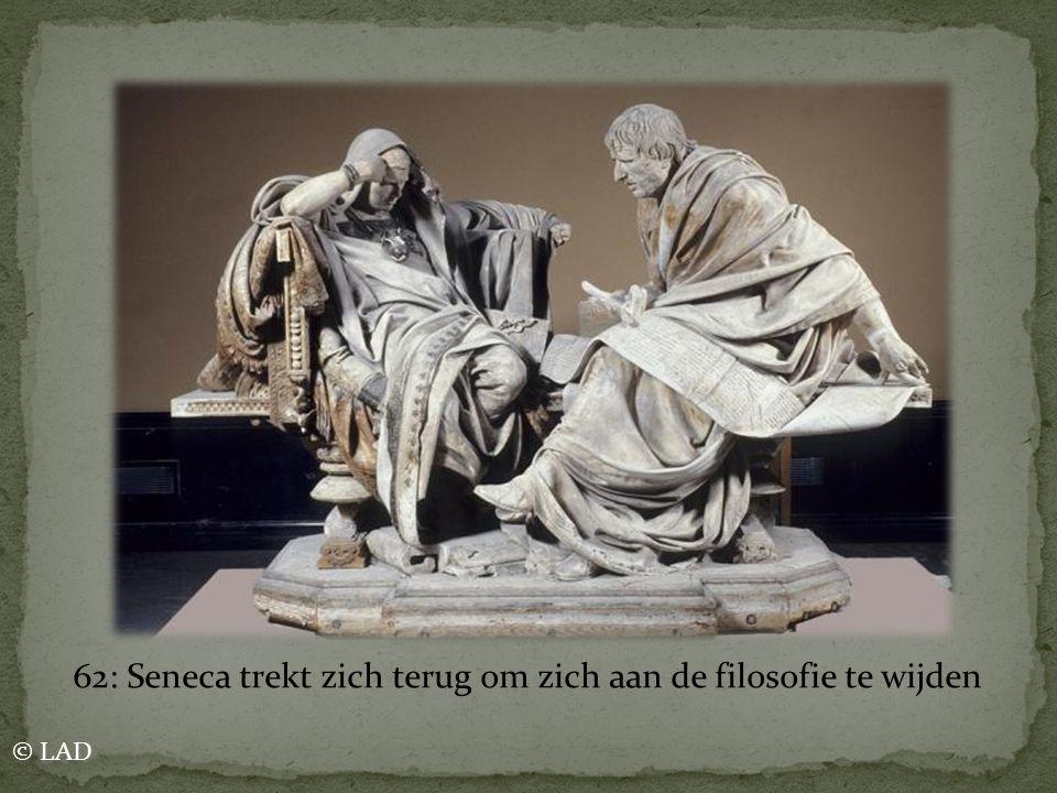 62: Seneca trekt zich terug om zich aan de filosofie te wijden