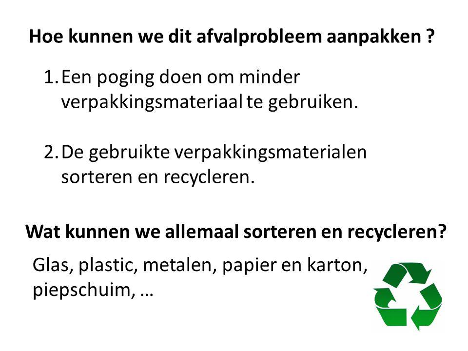 Hoe kunnen we dit afvalprobleem aanpakken