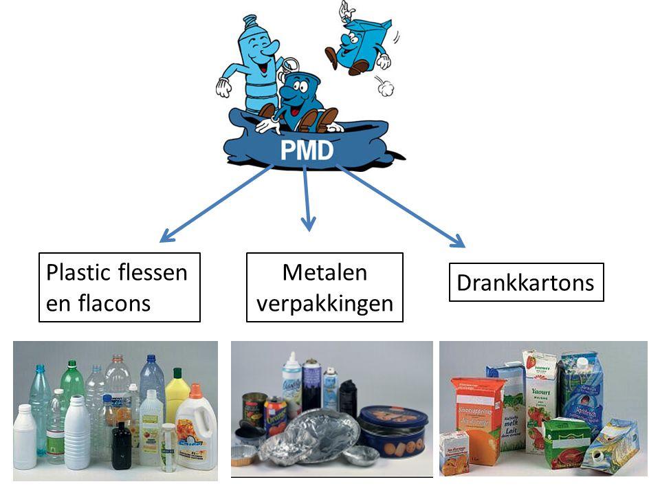 Plastic flessen en flacons