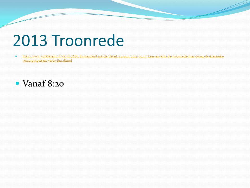 2013 Troonrede