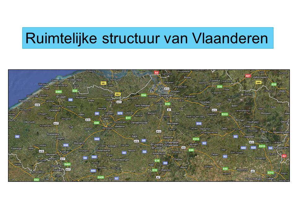 Ruimtelijke structuur van Vlaanderen