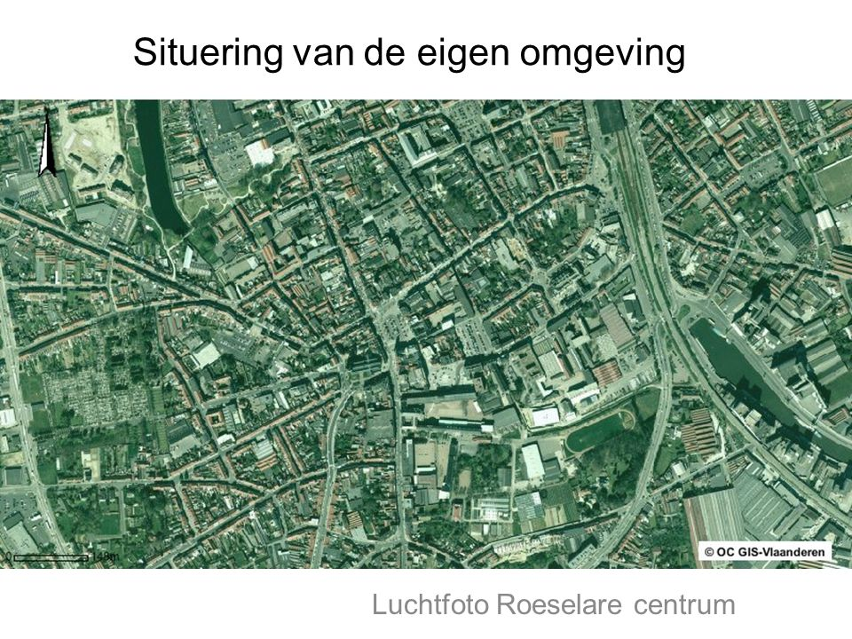 Luchtfoto Roeselare centrum