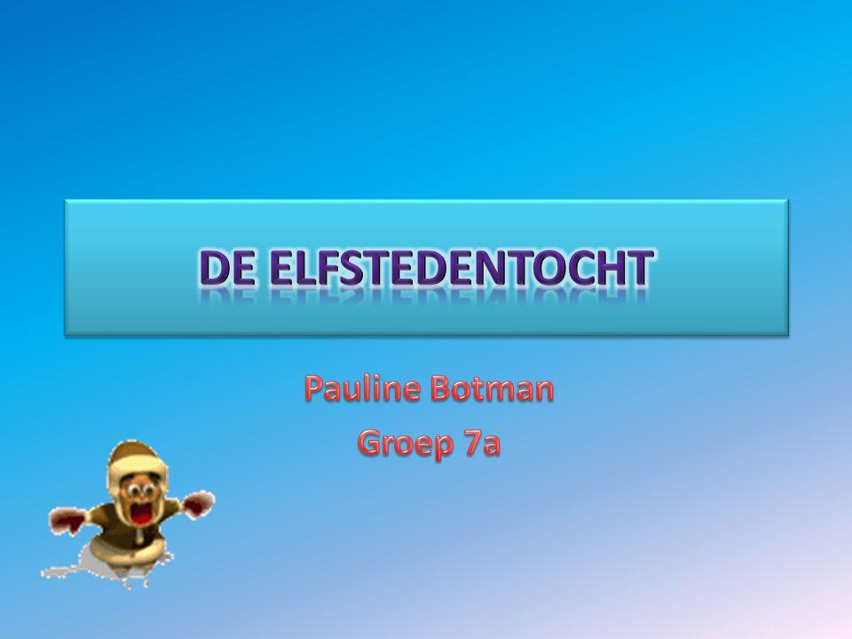 de Elfstedentocht Pauline Botman Groep 7a