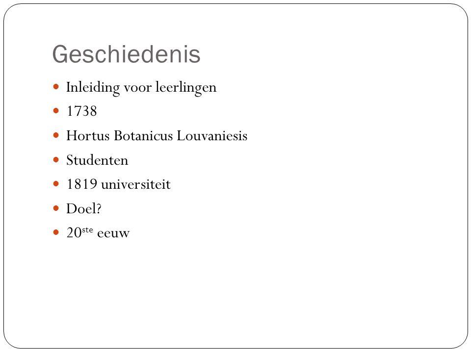 Geschiedenis Inleiding voor leerlingen 1738
