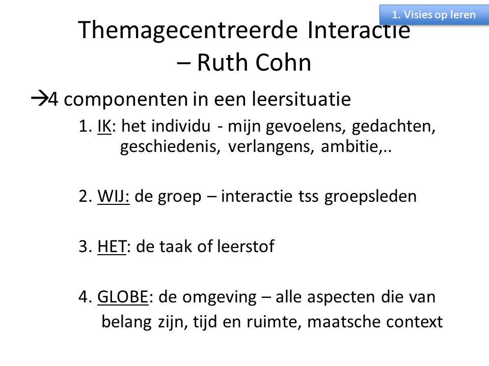 Themagecentreerde Interactie – Ruth Cohn