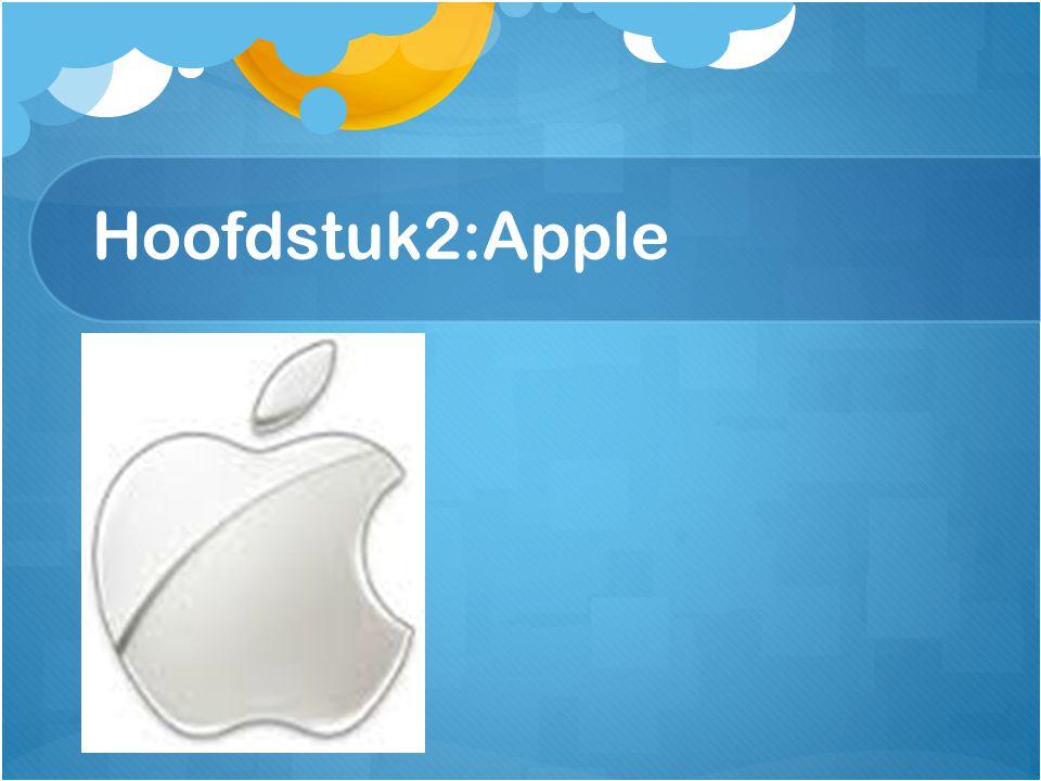 Hoofdstuk2:Apple