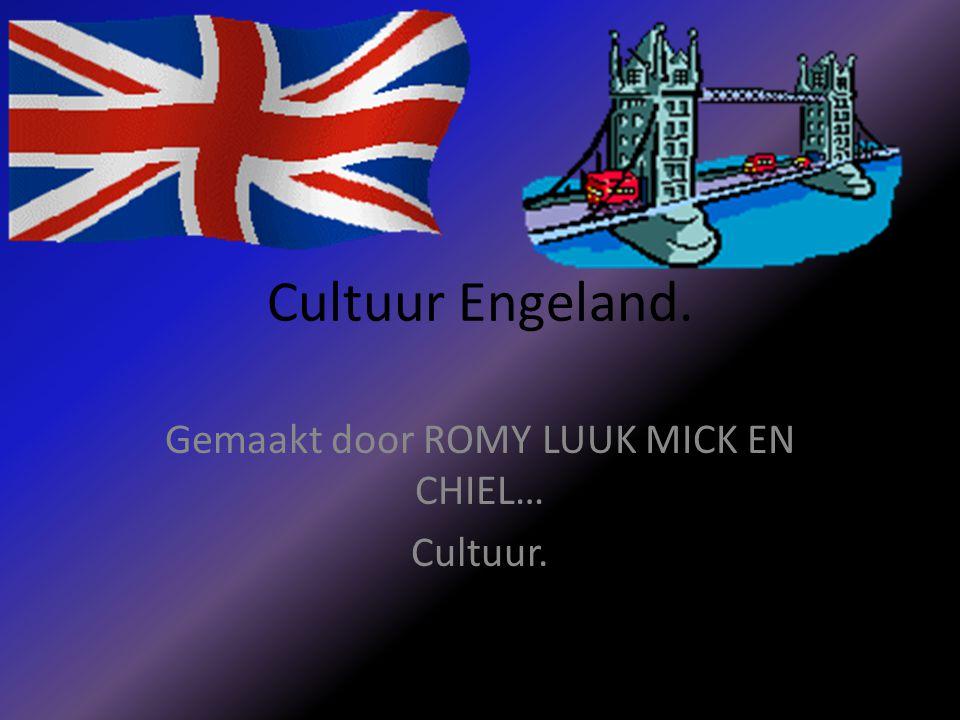Gemaakt door ROMY LUUK MICK EN CHIEL… Cultuur.