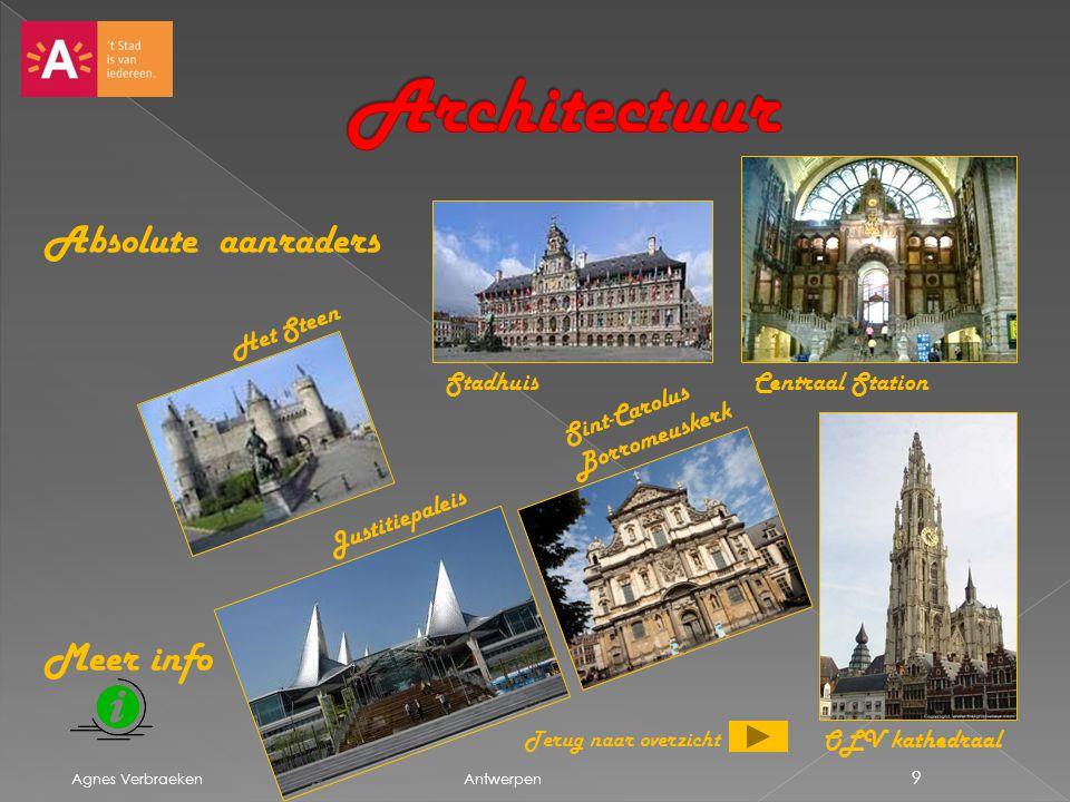 Architectuur Absolute aanraders Meer info Het Steen Stadhuis
