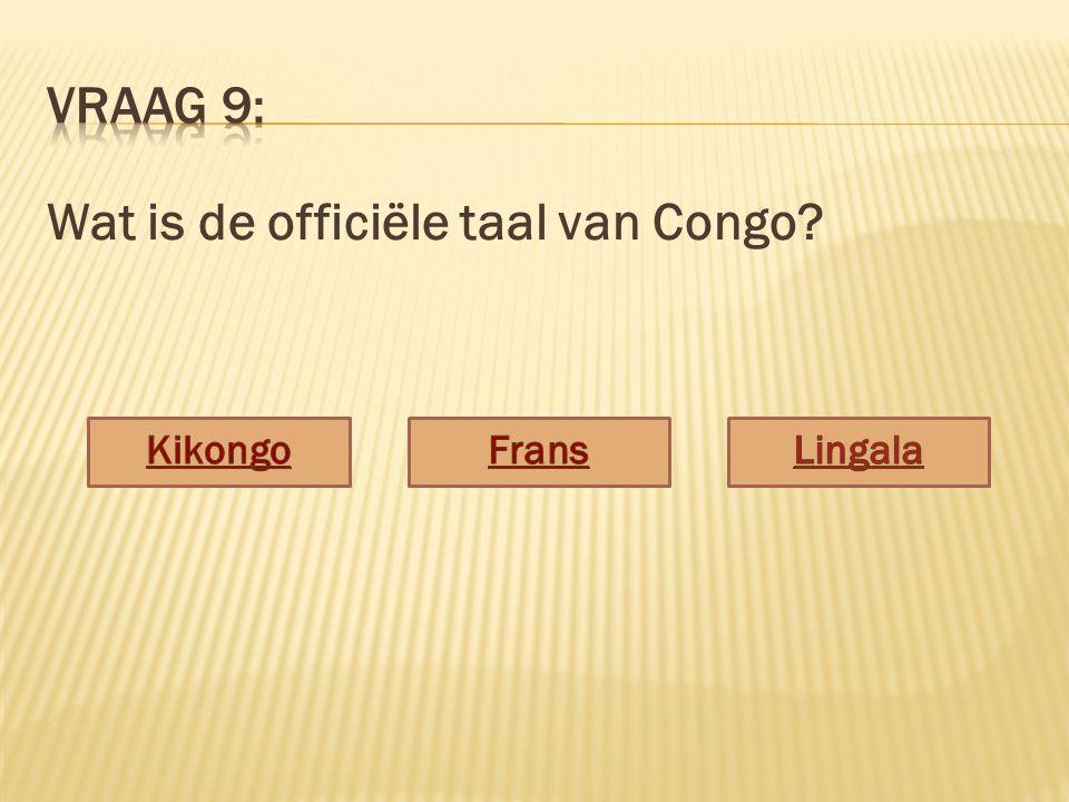 Wat is de officiële taal van Congo