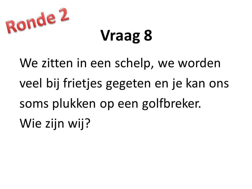 Ronde 2 Vraag 8.