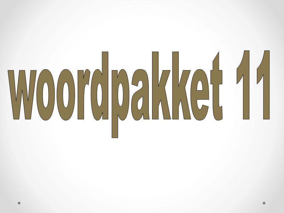 woordpakket 11