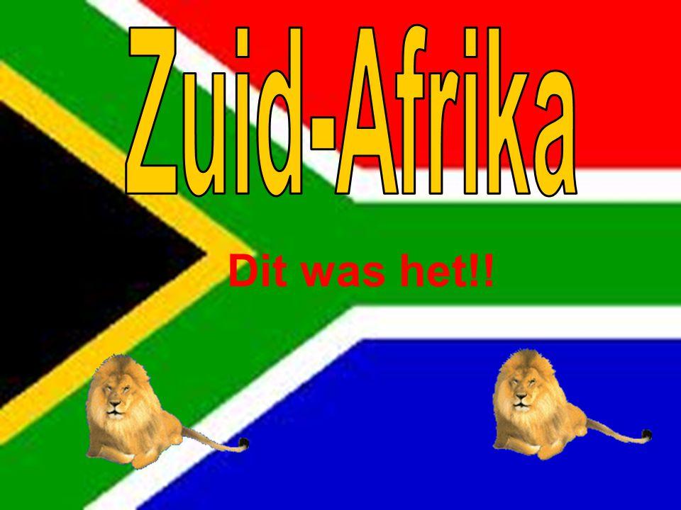 Zuid-Afrika Dit was het!!