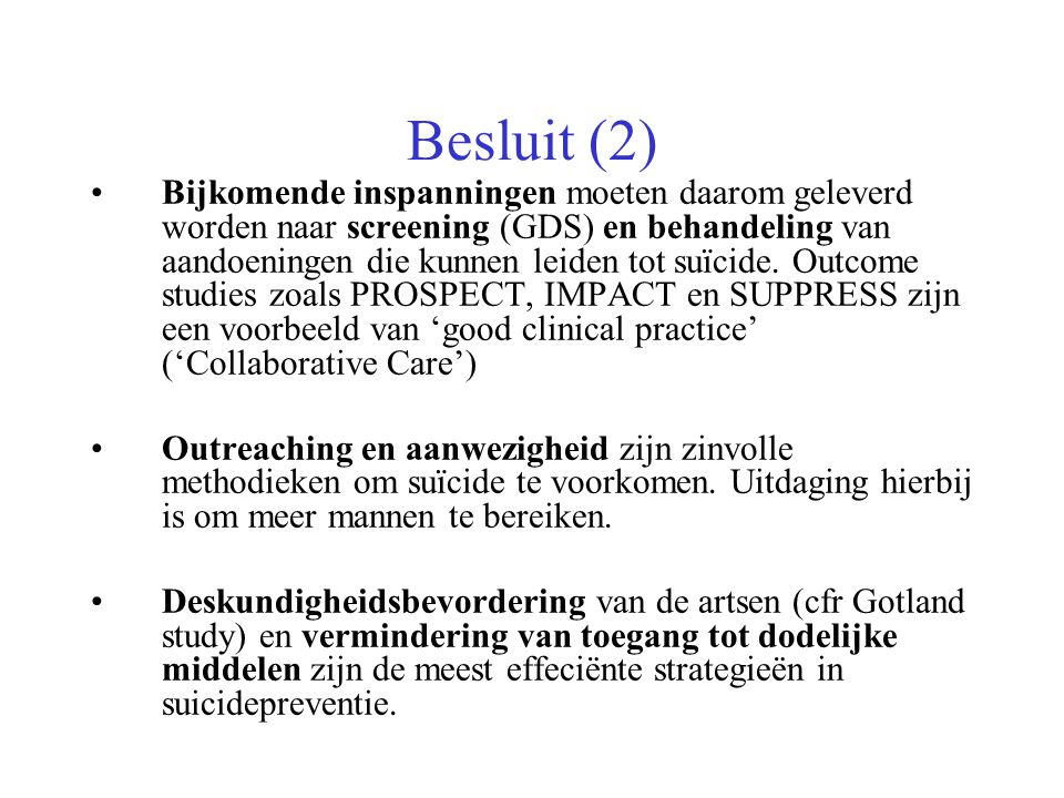 Besluit (2)
