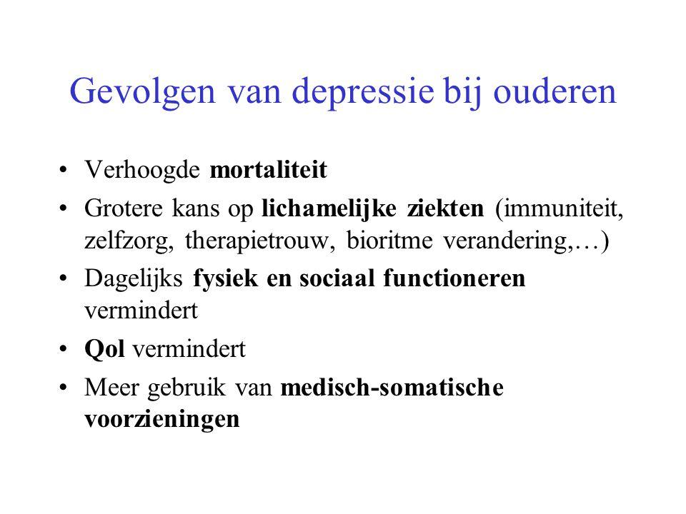 Gevolgen van depressie bij ouderen