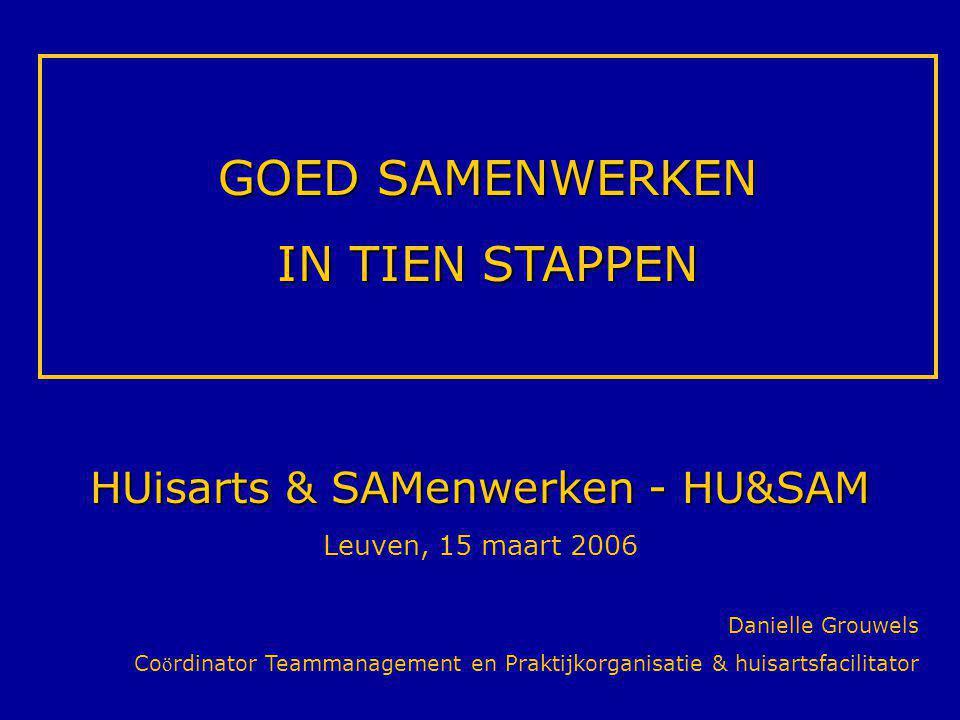 HUisarts & SAMenwerken - HU&SAM