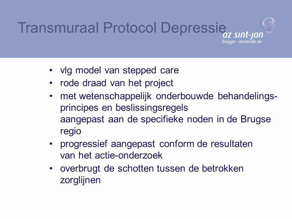 Transmuraal Protocol Depressie