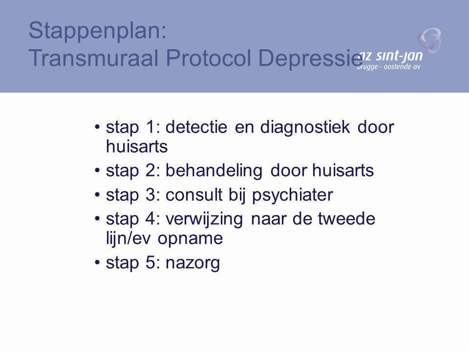 Stappenplan: Transmuraal Protocol Depressie