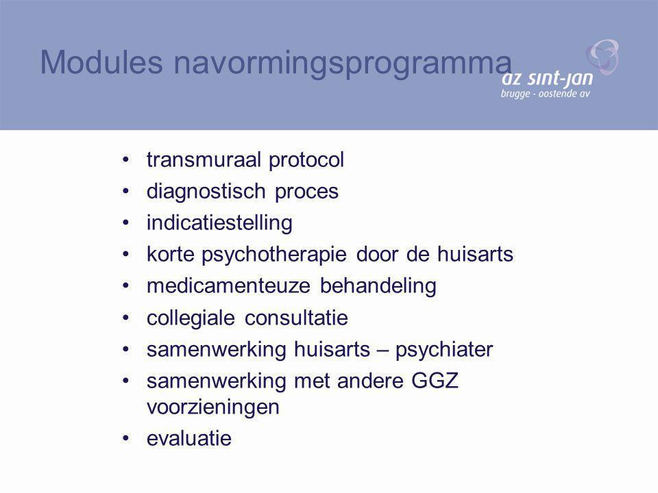 Modules navormingsprogramma