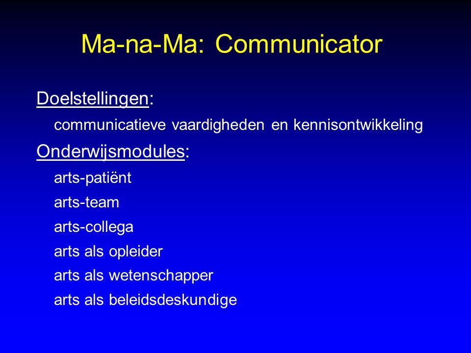 Ma-na-Ma: Communicator