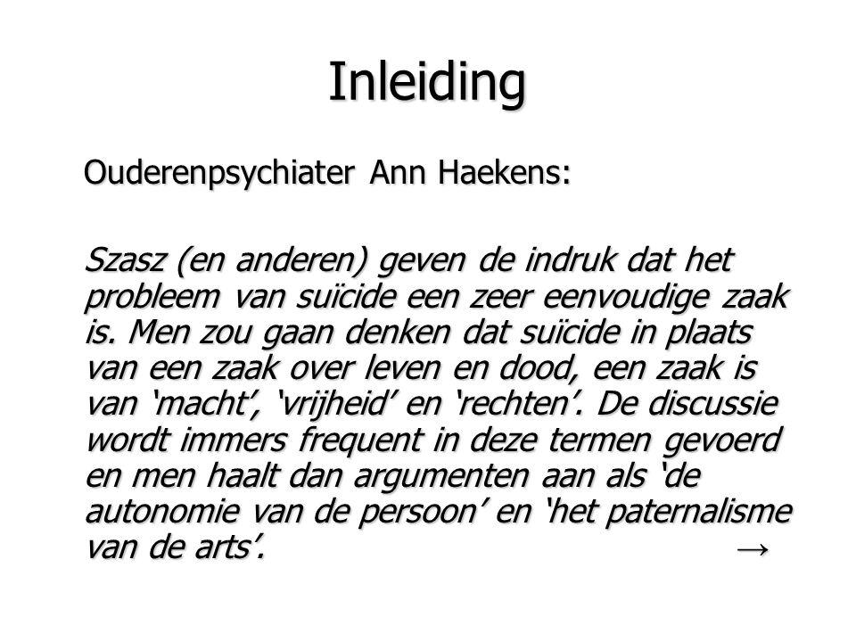Inleiding Ouderenpsychiater Ann Haekens:
