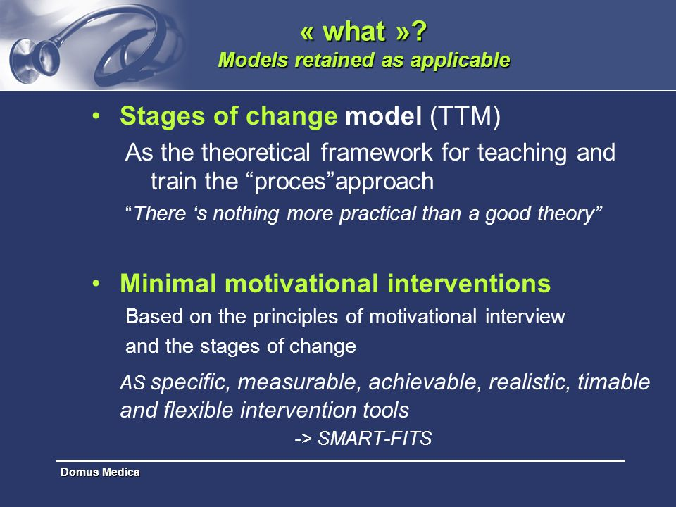 « what » Models retained as applicable