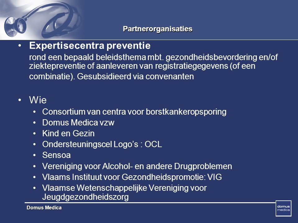 Expertisecentra preventie