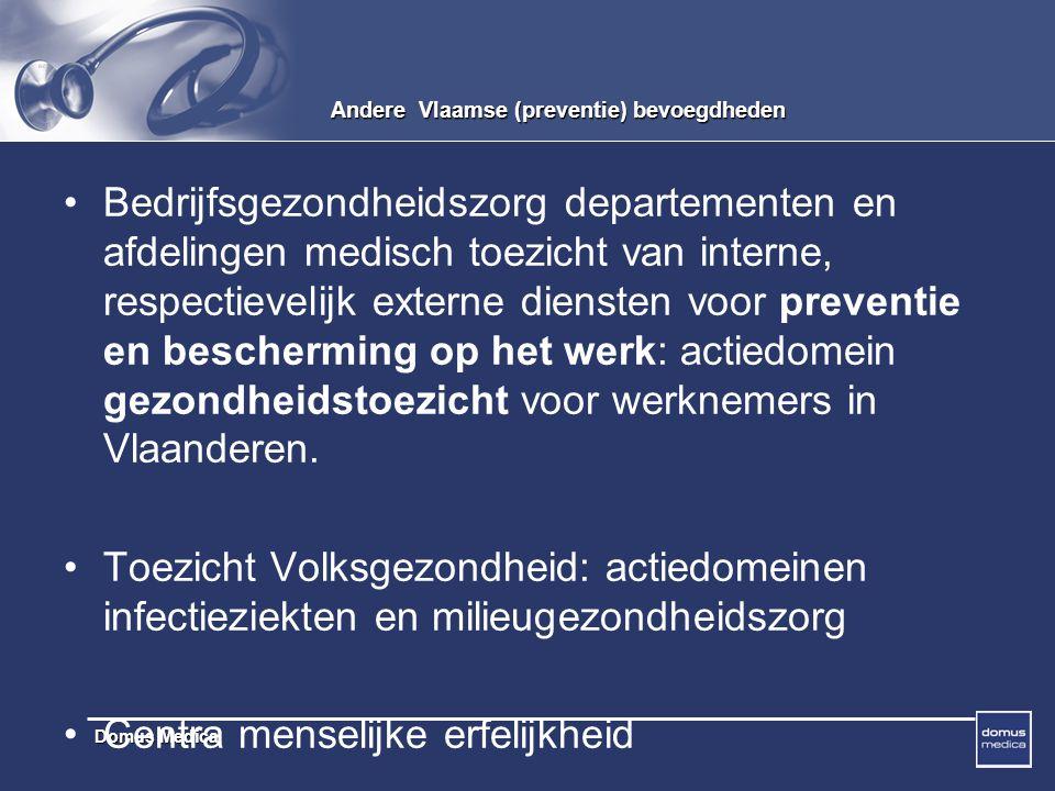 Andere Vlaamse (preventie) bevoegdheden