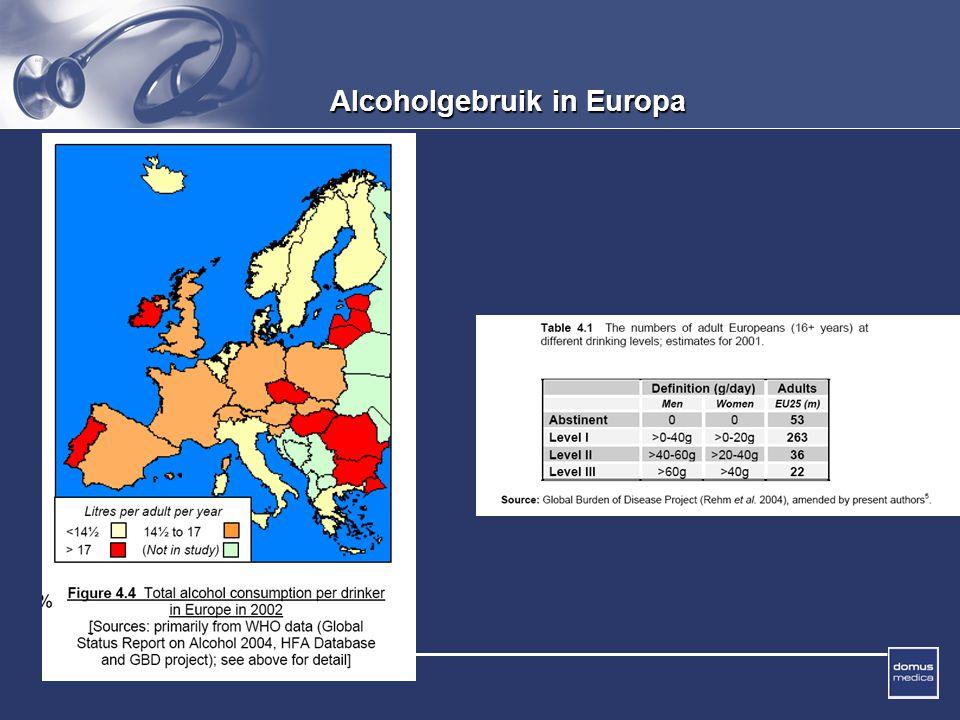 Alcoholgebruik in Europa
