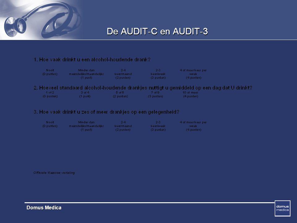 De AUDIT-C en AUDIT-3