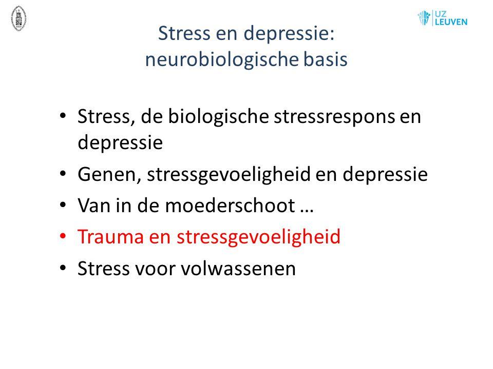 Stress en depressie: neurobiologische basis